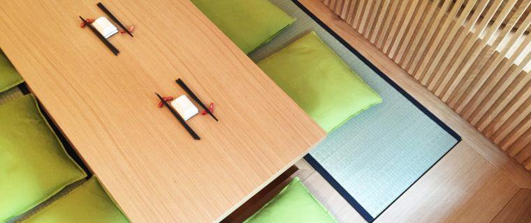 Moderne japanische Innenatmosphäre