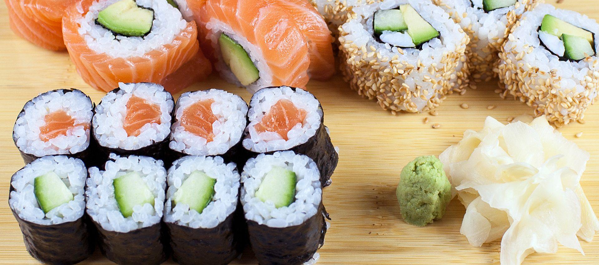 Variantenreiche japanische Küche